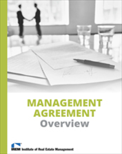 IREM Publication: Sample Property Management Agreement