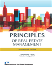 IREM Publication: Principles of Real Estate Management, 17th Edition