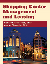 IREM Publication: Shopping Center Management and Leasing