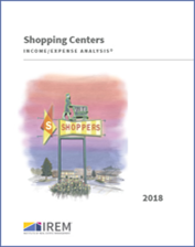 IREM Publication: Income/Expense Analysis: Shopping Centers Interactive PDF/Excel (2018)