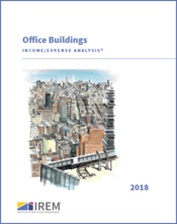 IREM Publication: Income/Expense Analysis: Office Buildings Interactive PDF/Excel (2018)