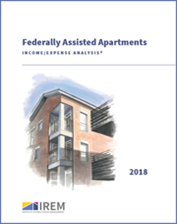 IREM Publication: Income/Expense Analysis: Federally Assisted Apartments Interactive PDF/Excel (2018)