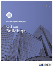 IREM Publication: Income/Expense Analysis: Office Buildings Interactive PDF/Excel (2019)