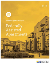 IREM Publication: Income/Expense Analysis: Federally Assisted Apartments Interactive PDF/Excel (2019)