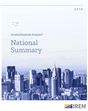 IREM Publication: Real Estate Income/Expense Analysis National Summary (eBook)